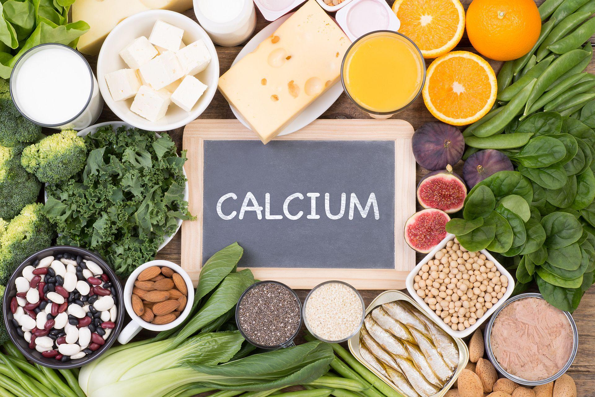 Lebensmittel mit viel Kalzium (Calcium)