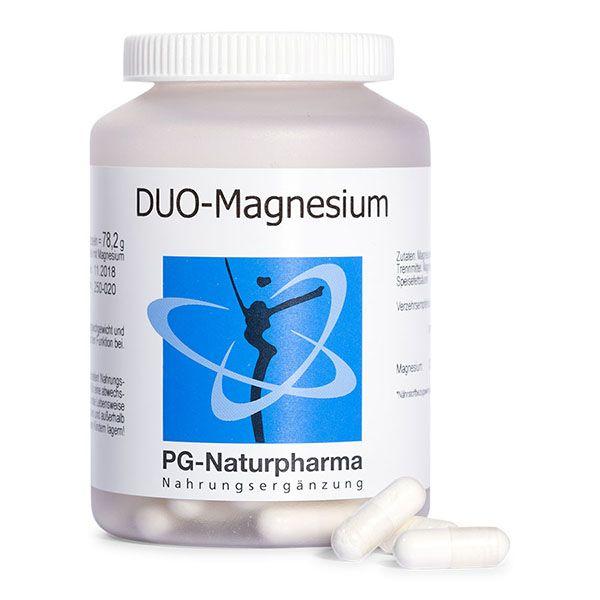 DUO- Magnesium mit Magnesiumcitrat - 120 Kapseln