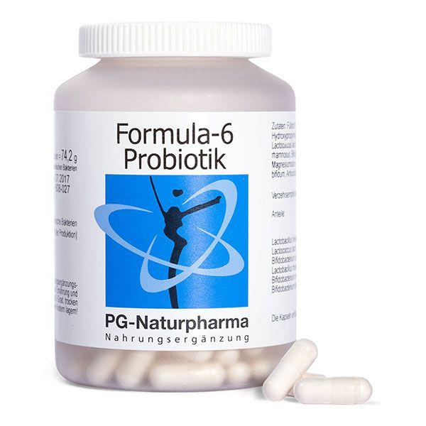 Formula-6 Probiotik mit Bifidobakterien - 160 Kapseln