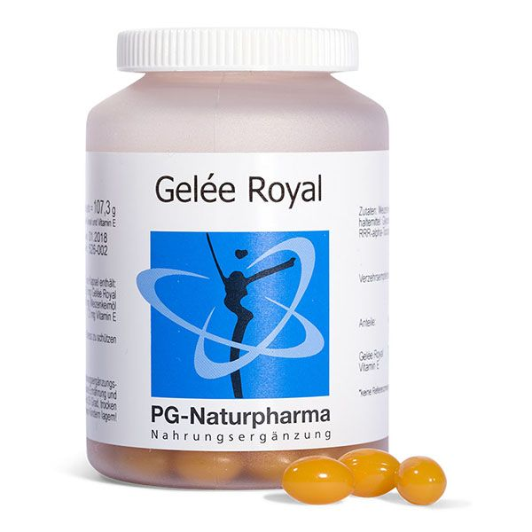 Gelée Royal mit Vitamin E - 150 Kapseln