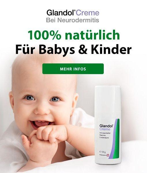 Glandol Creme für Babys und Kinder