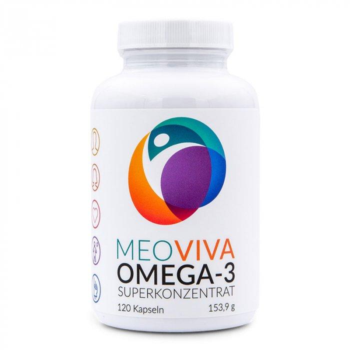 MEOVIVA Omega-3 Kapseln Superkonzentrat