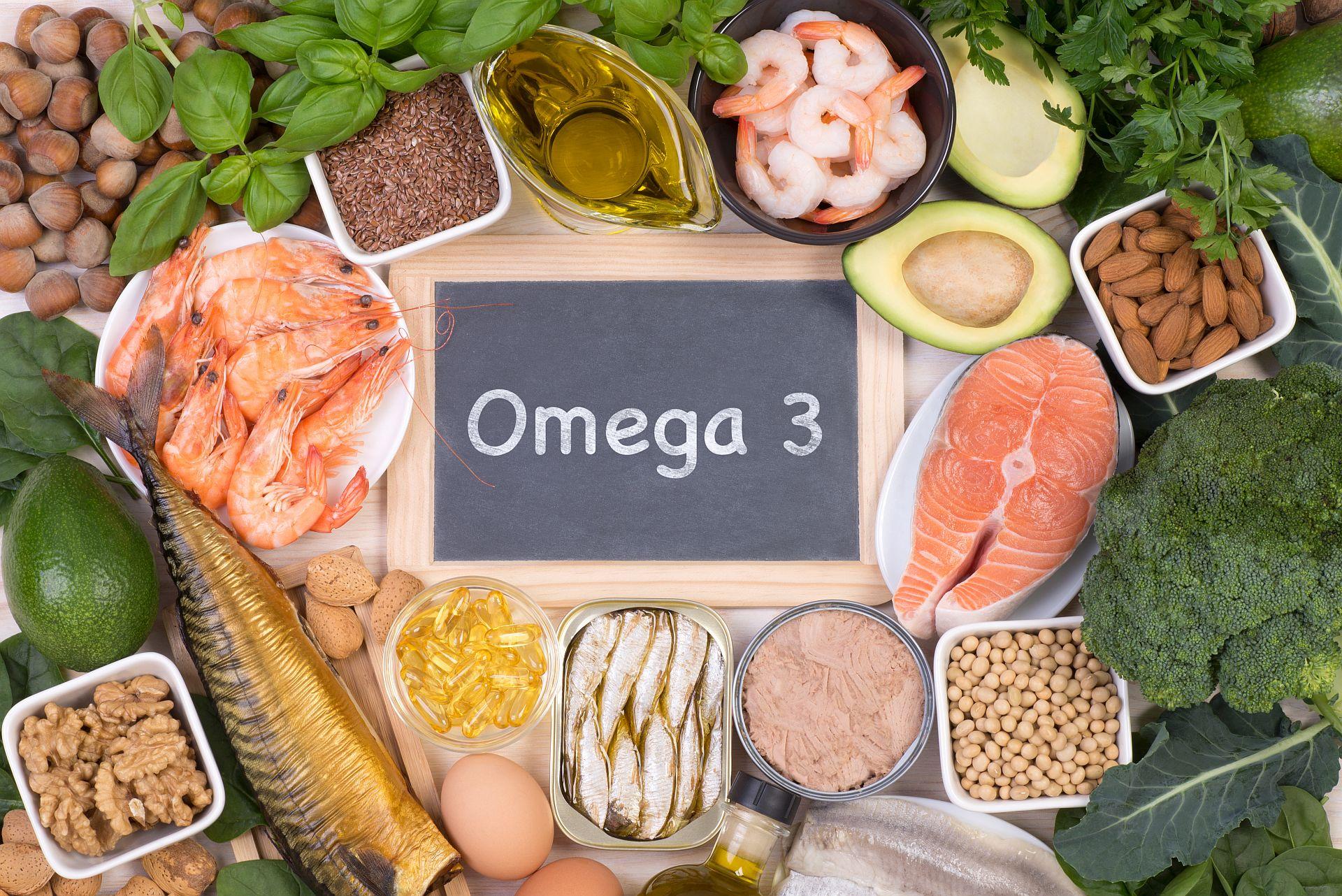Omega 3 oder Omega-3 ist wichtig für den Körper