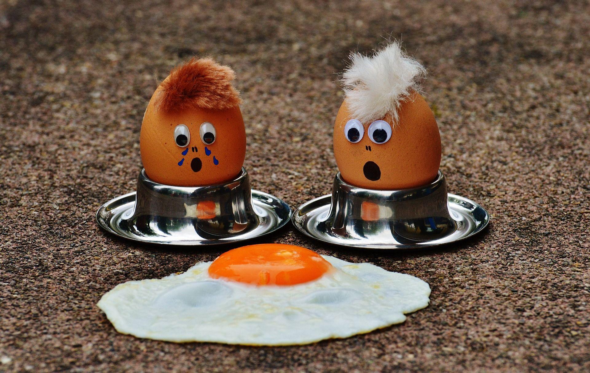 Eier enthalten viel Zink