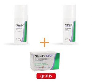 Glandol Creme und GlandolATOP120 gratis