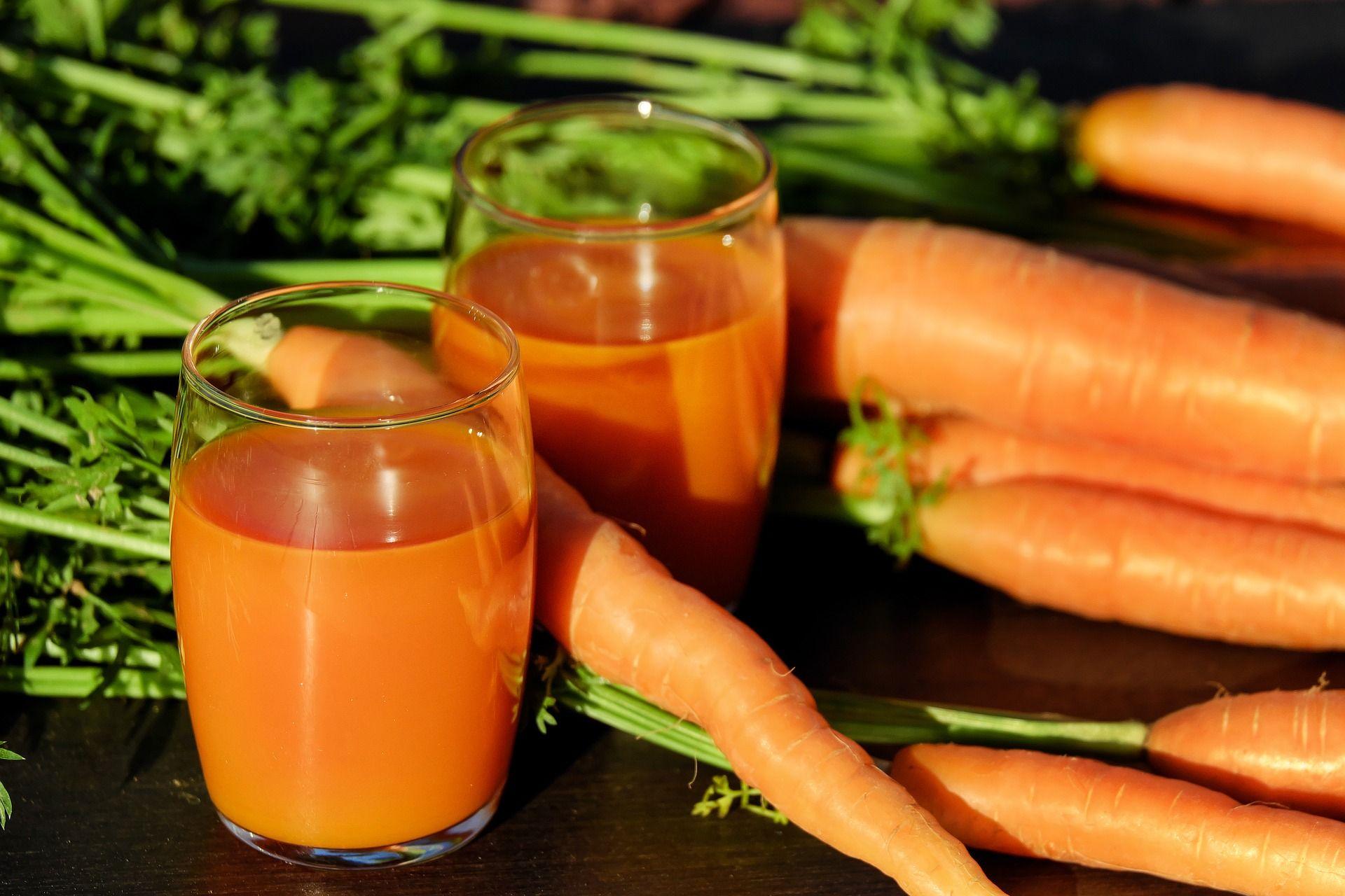Karotten enthalten viel Vitamin A