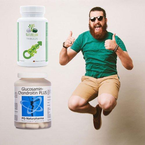 Unser Männer-Paket - Tribulus und Glucosamin Chondroitin