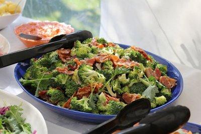 Brokkoli enthält viel Vitamim B