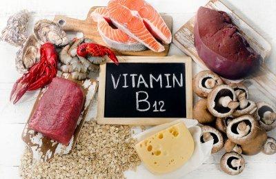 Vitamin B12 in Lebensmitteln