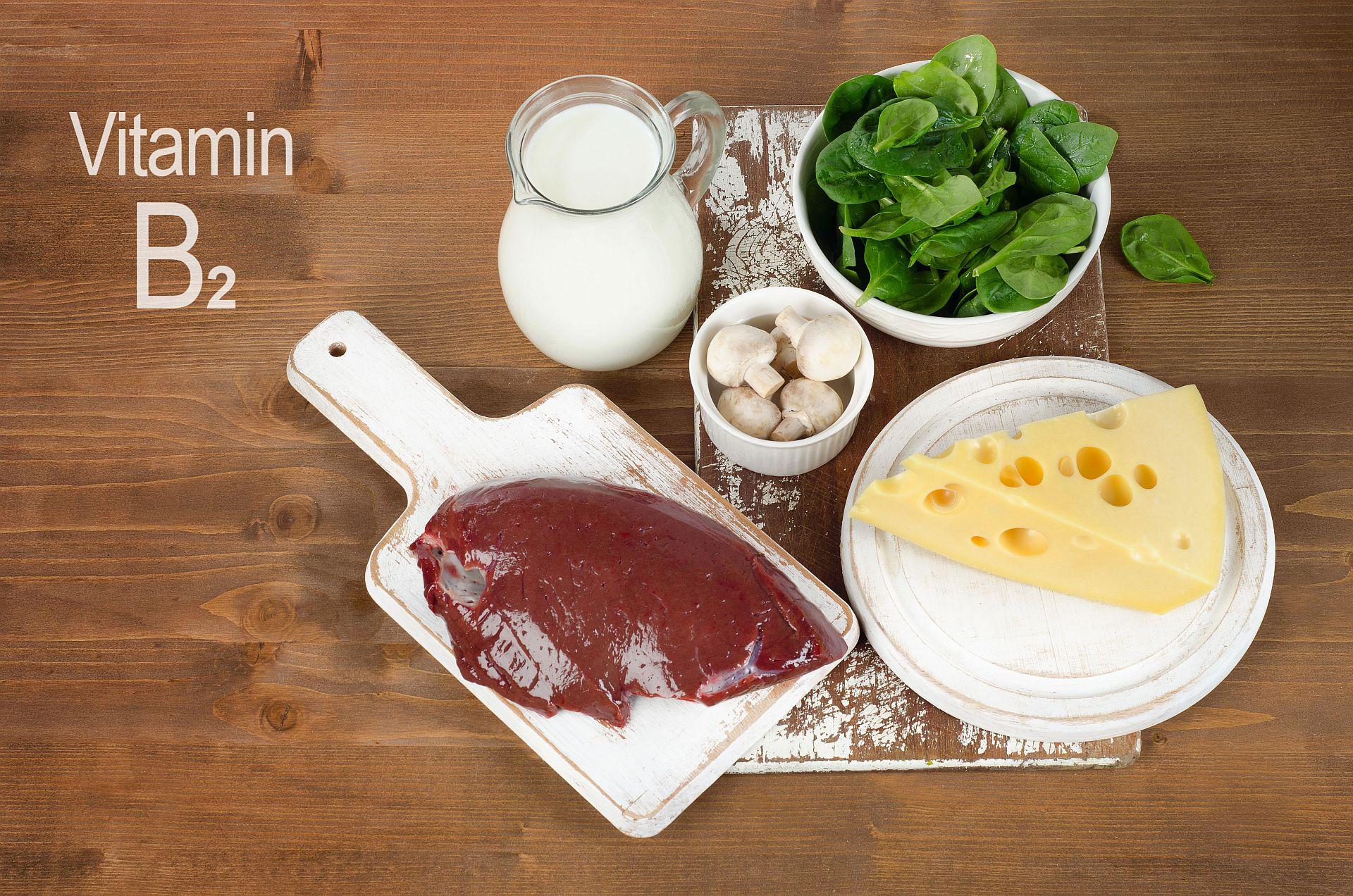 Lebensmittel mit Vitamin B2 bzw. Riboflavin