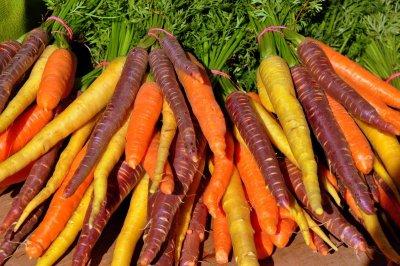 Karotten enthalten viele Carotinoide
