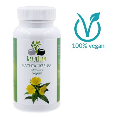 Nachtkerzenöl vegan mit Vitamin E