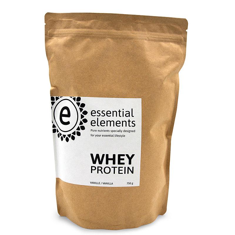 Whey Protein Eiweißpulver - 750g - Vanille