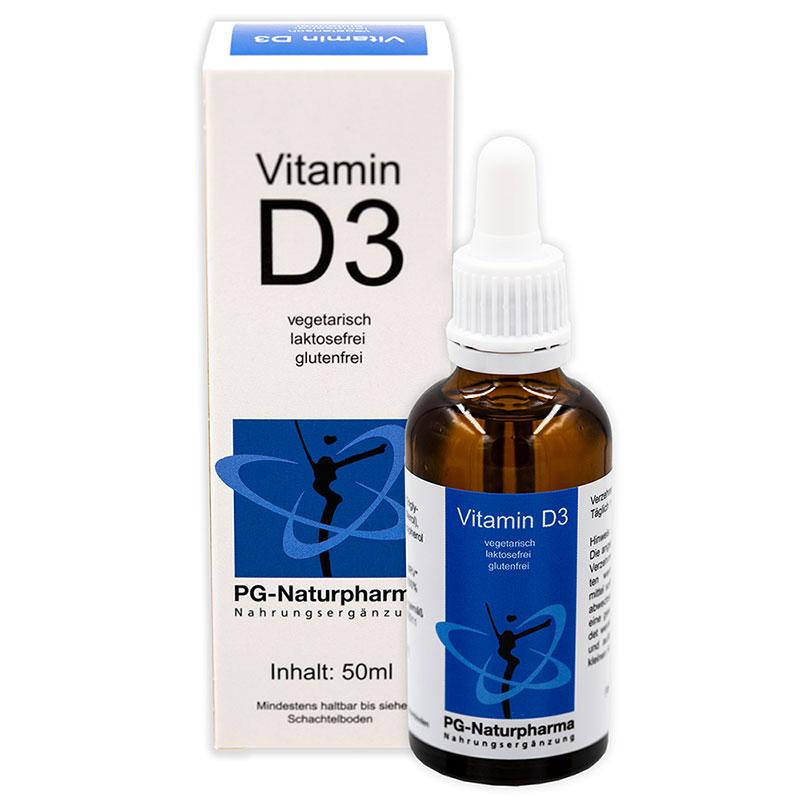 Vitamin D3 Tropfen mit MCT-Öl - 50ml