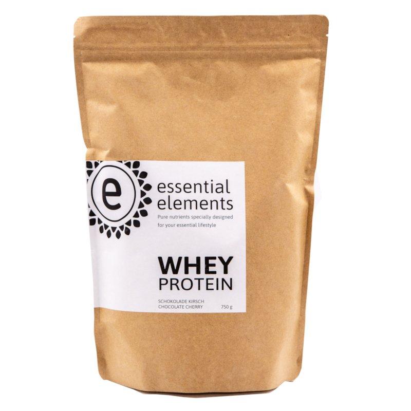Whey Protein Pulver - 750g - Schokolade mit Kirschstückchen