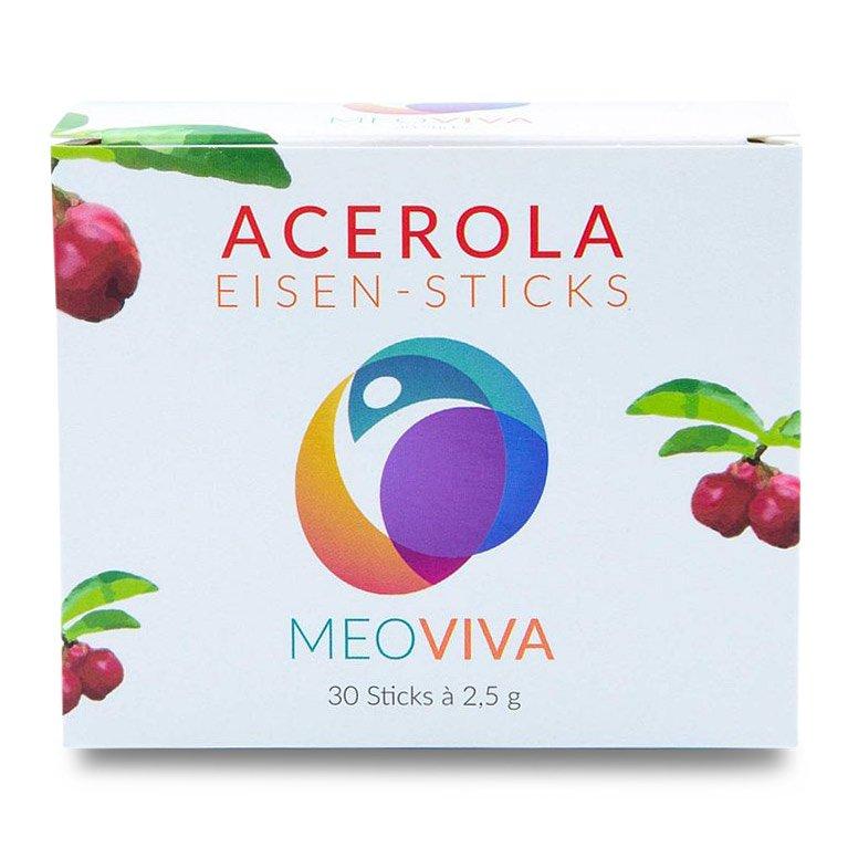 Acerola Eisen Stick mit Vitamin C - 30 Sticks
