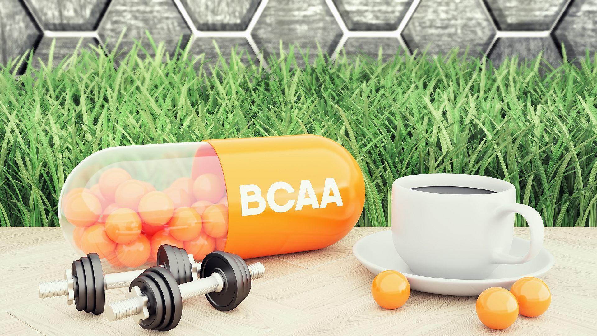 BCAA Aminosäuren beim Muskelaufbau
