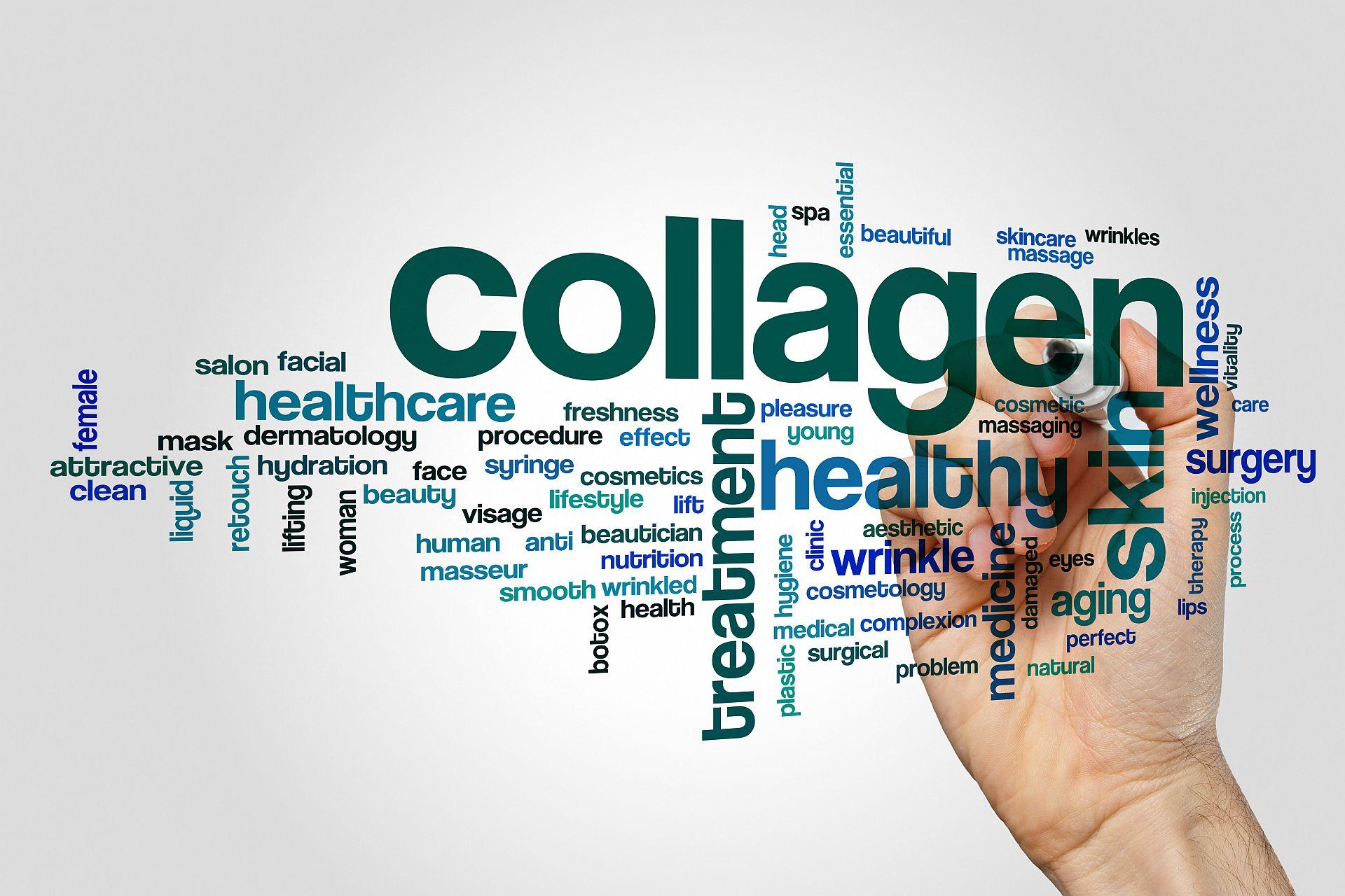 Collagen (Kollagen) ist gut für die Haut