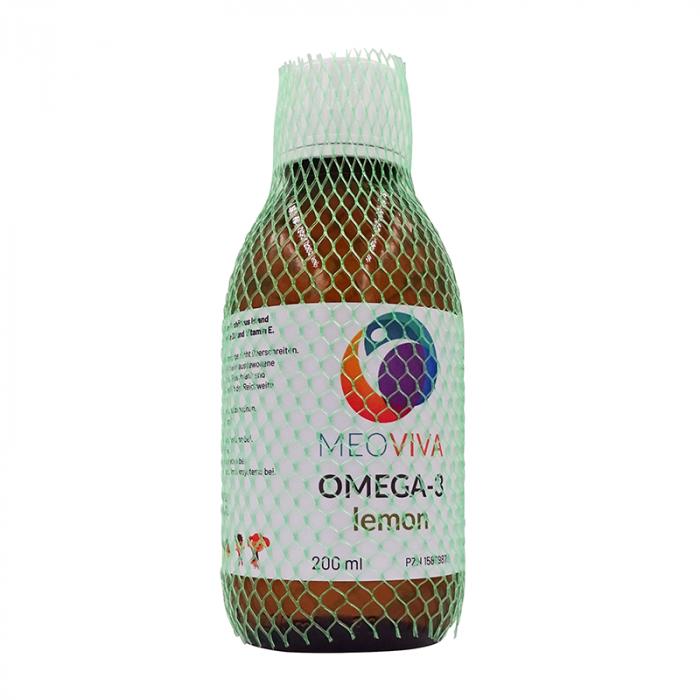 Omega-3 Fischöl flüssig lemon