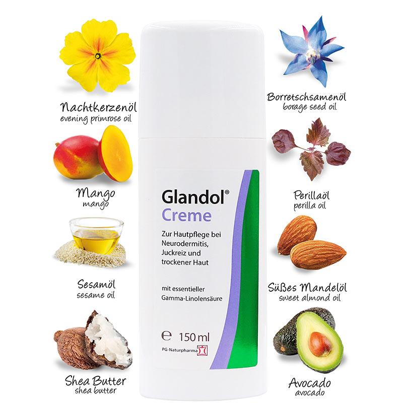 Glandol® Creme bei Neurodermitis - 150ml - NEU - XL-Spender