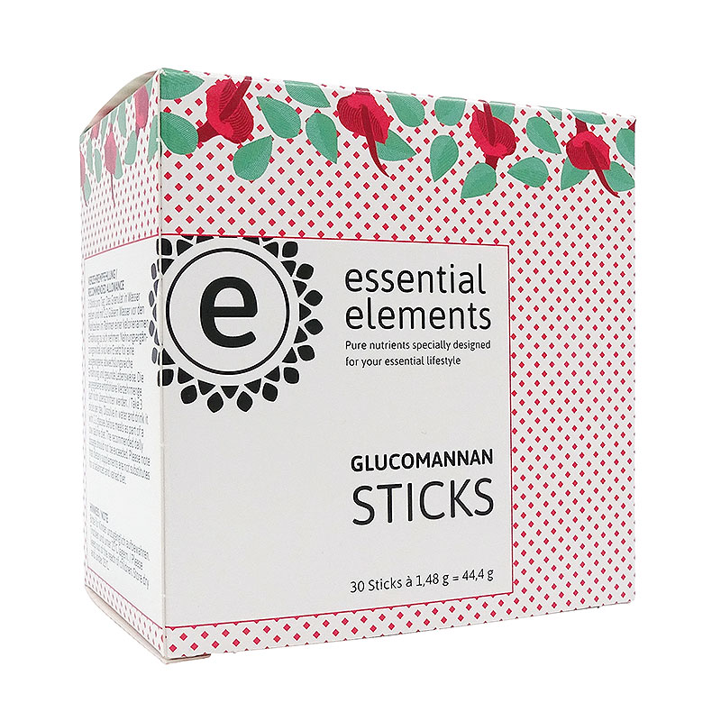 Glucomannan Sticks mit Vitamin C - 30 Sticks