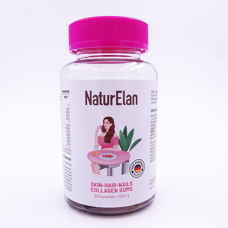 Fruchtgummis mit Kollagen , Zink, Biotin und Vitamin C